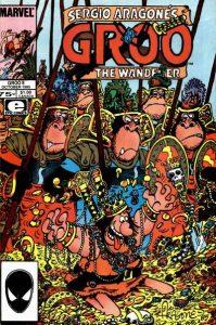 Sergio Aragonés Groo the Wanderer #8 (1985)