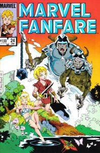 Marvel Fanfare #24 (1986)