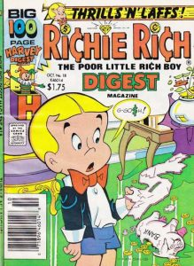 Richie Rich Digest Magazine #18 (1986)