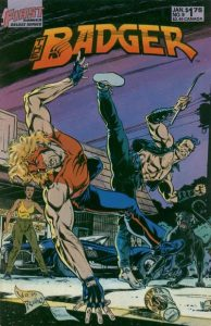 The Badger #9 (1986)