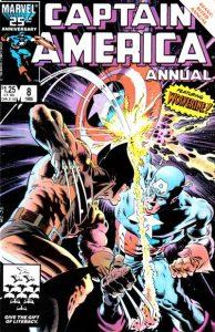 Captain America Annual #8 (1986)