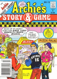 Archie's Story & Game Digest Magazine #13 (1986)