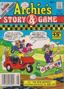 Archie's Story & Game Digest Magazine #5 (1986)