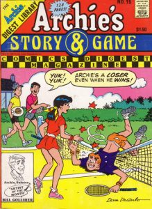Archie's Story & Game Digest Magazine #15 (1986)