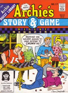 Archie's Story & Game Digest Magazine #17 (1986)