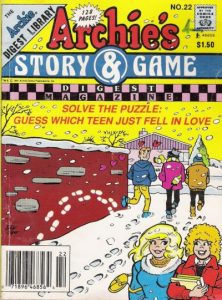 Archie's Story & Game Digest Magazine #22 (1986)