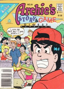 Archie's Story & Game Digest Magazine #24 (1986)