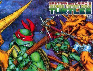 Teenage Mutant Ninja Turtles #6 (1986)
