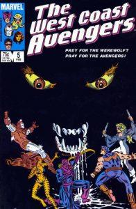 West Coast Avengers #5 (1986)