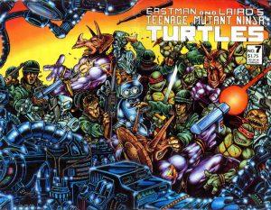 Teenage Mutant Ninja Turtles #7 (1986)