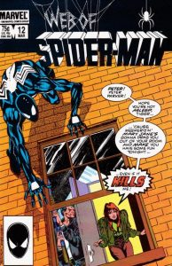 Web of Spider-Man #12 (1986)