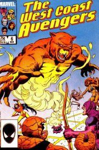 West Coast Avengers #6 (1986)