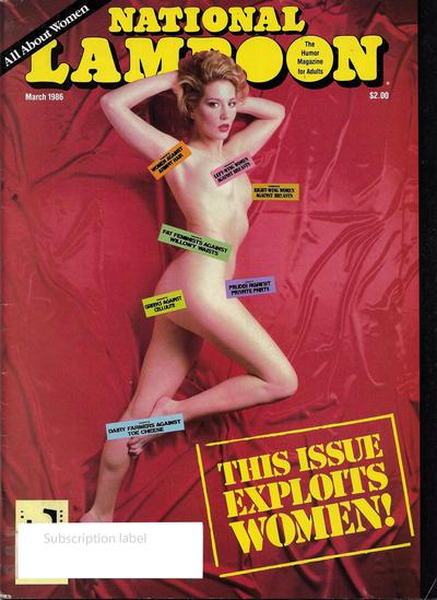 National Lampoon Magazine #3/1986 (1986)