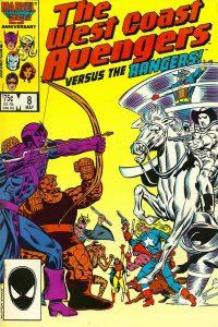 West Coast Avengers #8 (1986)