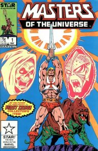 Masters of the Universe #1 (1986)