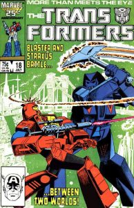 The Transformers #18 (1986)