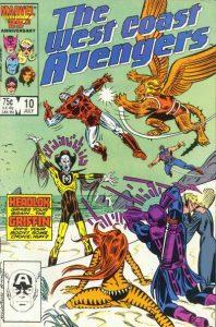 West Coast Avengers #10 (1986)
