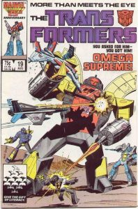 The Transformers #19 (1986)