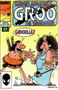 Sergio Aragonés Groo the Wanderer #18 (1986)