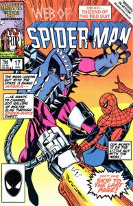 Web of Spider-Man #17 (1986)