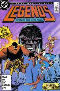 Legends #1 (1986)