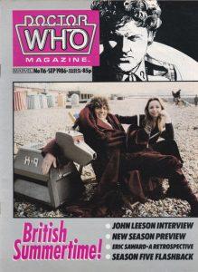 Doctor Who Magazine #116 (1986)