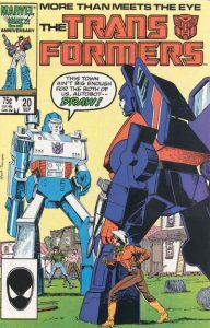 The Transformers #20 (1986)