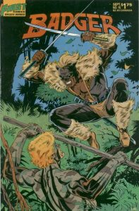 The Badger #15 (1986)