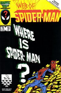 Web of Spider-Man #18 (1986)