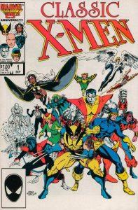 Classic X-Men #1 (1986)