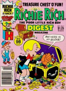 Richie Rich Digest Magazine #1 (1986)