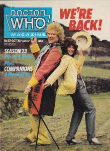Doctor Who Magazine #117 (1986)