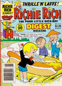 Richie Rich Digest Magazine #2 (1986)