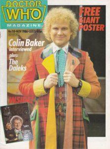Doctor Who Magazine #118 (1986)