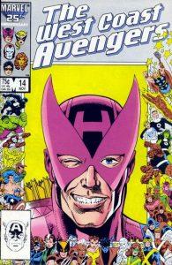 West Coast Avengers #14 (1986)