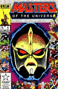 Masters of the Universe #4 (1986)