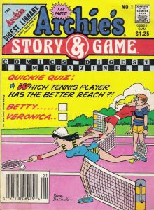 Archie's Story & Game Digest Magazine #1 (1986)