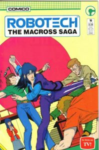Robotech: The Macross Saga #16 (1986)