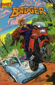 The Badger #18 (1986)