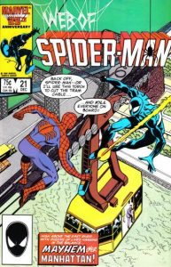 Web of Spider-Man #21 (1986)