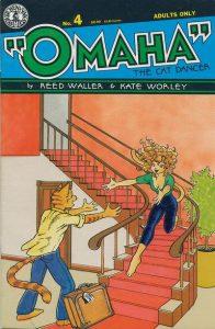 Omaha the Cat Dancer #4 (1987)