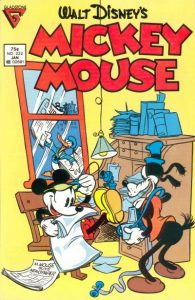 Mickey Mouse #222 (1987)