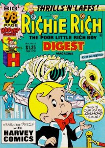 Richie Rich Digest Magazine #4 (1987)