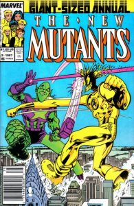 The New Mutants Annual #3 (1987)