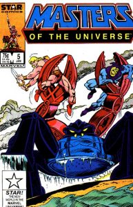 Masters of the Universe #5 (1987)