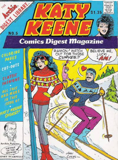 Katy Keene Comics Digest Magazine #5 (1987)