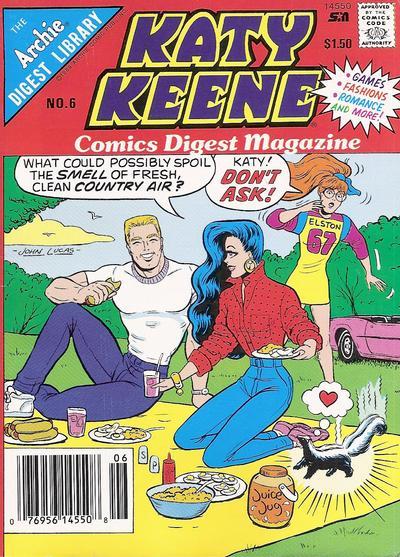 Katy Keene Comics Digest Magazine #6 (1987)