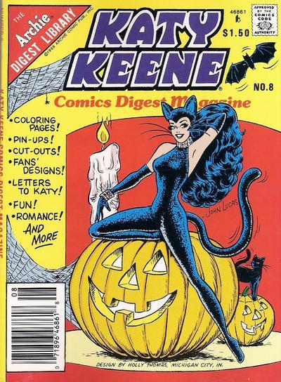Katy Keene Comics Digest Magazine #8 (1987)