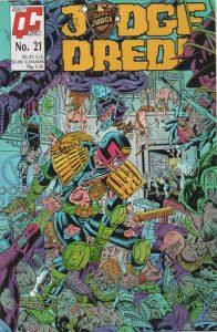 Judge Dredd #21 [UK] (1987)