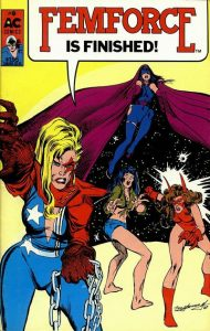 FemForce #9 (1987)